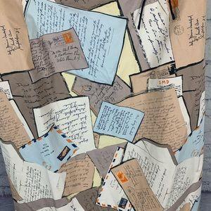 J. Crew Dresses - J. Crew Love Letter Postcard Mail Dress Size 12